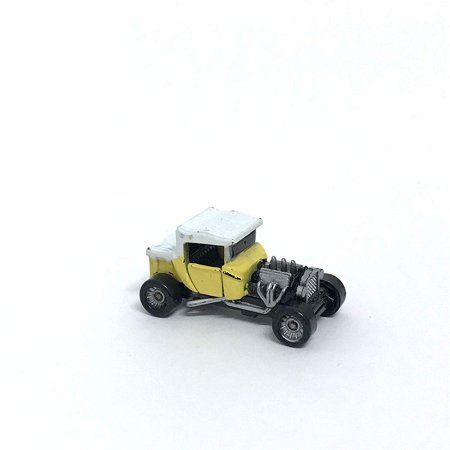 Micro Machines Classic Hot Rod Hot Roadster Ford Model - A Door Open Miniature Car