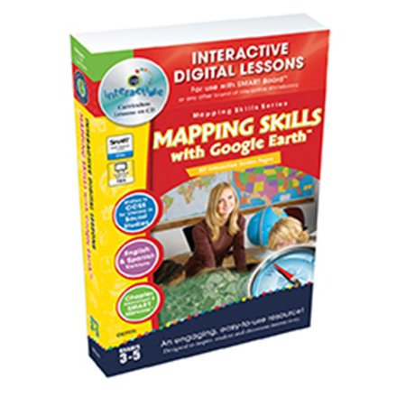 Classroom Complete Press Cc7771 Mapping Skills With Google Earth Grades 3 5   Paul Bramley
