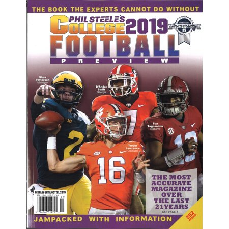 Phil Steele's 2019 College Football Preview - National - Miami Hurricanes College Football