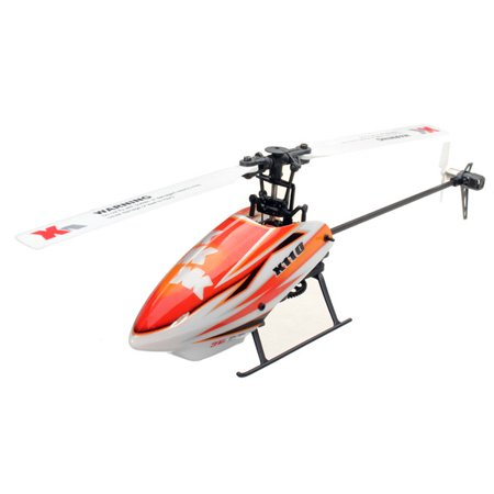 XK K110 Blast 6CH Brushless 3D6G System RC Helicopter BNF (Compatible with FUTABA S-FHSS.without transmitter) ()