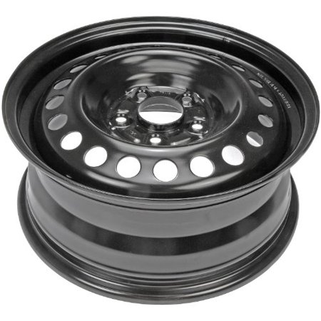Dorman Steel Wheel With Black Painted Finish  16X6 5  5X115mm