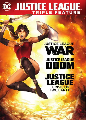 DCU Justice League: War   Doom   Crisis on Two Earths (DVD) by WARNER HOME VIDEO