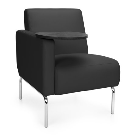 Ofminc furniture TUNGSTEN Model 3001RT Triumph Series Right Arm Tablet Modular Lounge Chair 300 Lbs Weight capacity ()