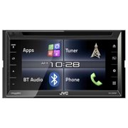 "JVCM KW-V320BT 6.8"" Double-DIN In-Dash DVD Receiver with Bluetooth and SiriusXM Ready"