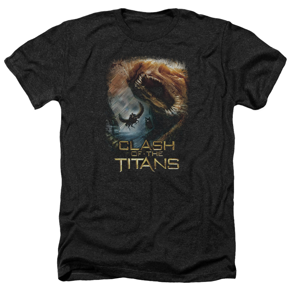 Clash Of The Titans Kraken Clash Mens Heather Shirt
