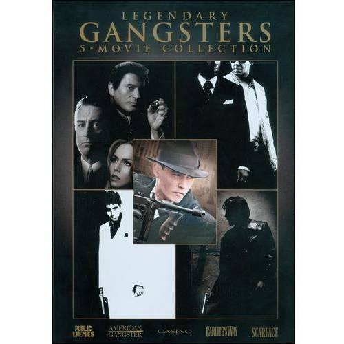 The Gangster Collection: Public Enemies / American Gangster / Scarface (1983) / Casino / Carlito's Way (Widescreen)