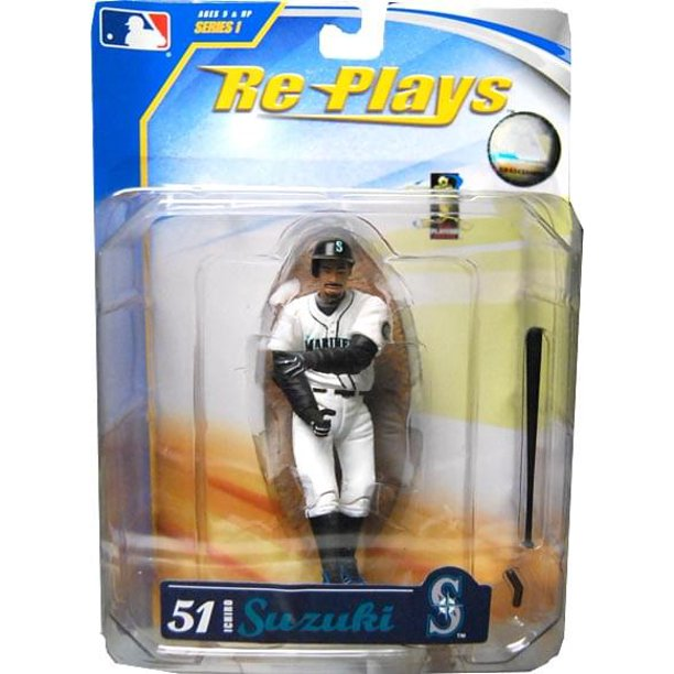 "Major League Baseball 4"" Action Figure Ichiro Suzuki"