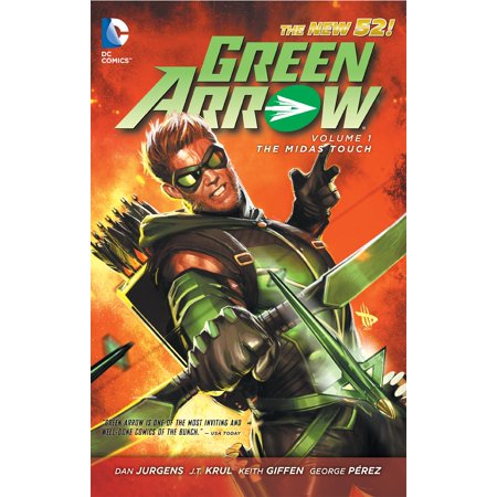 Green arrow vol 1 the midas touch the new 52 walmart green arrow vol 1 the midas touch the new 52 fandeluxe Images
