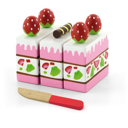 Strawberry Cake - Pretend Children Play Kitchen Game Food ()
