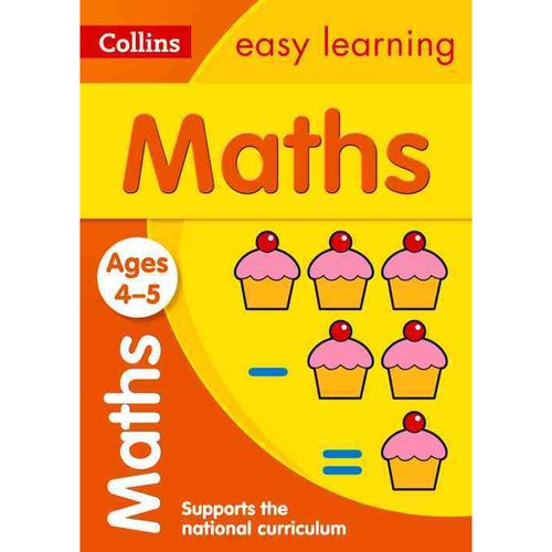 Collins Easy Learning Preschool Maths Ages 4-5: New Edition by