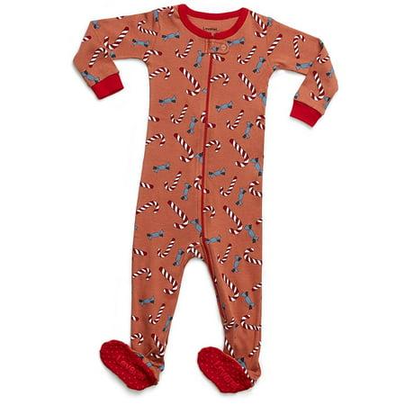 Leveret Baby Boys Girls Footed Sleeper Pajama 100% Organic Cotton ... 13d821e2b