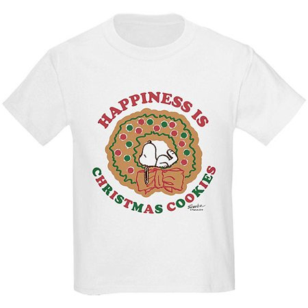 0d165fab CafePress - Peanuts: Happiness is Christmas Co Kids T-Shirt By - Walmart.com