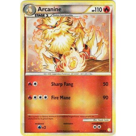 Pokemon HeartGold SoulSilver Arcanine #1 (Pokemon Gold And Silver 2 In 1)