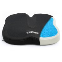 Belmint Coccyx Memory Foam Seat Cushion with Gel, Orthopedic Back Support Pillow