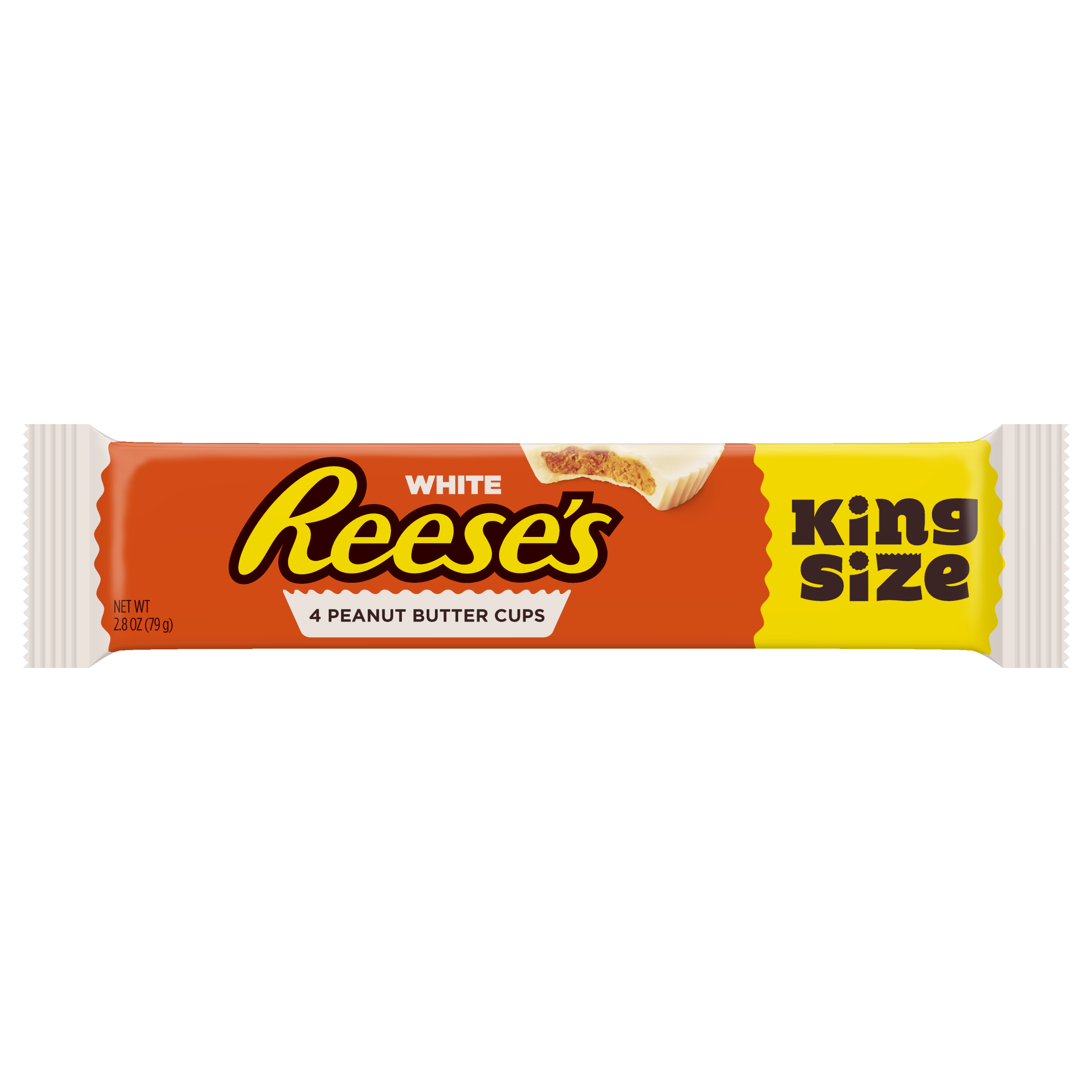 Reese's, Peanut Butter White Chocolate Cups King Size, 2.8 Oz