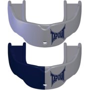 Tapout Mouthguard 2-Pack - Youth - Solid Silver and Navy/Silver