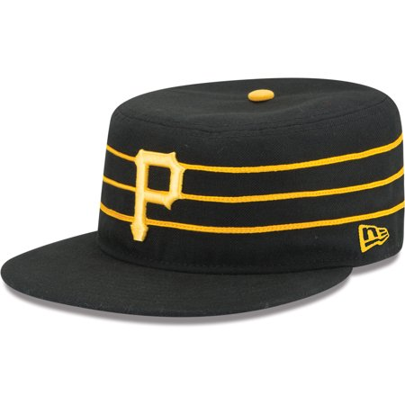 Pittsburgh Pirates New Era Alternate 2 Authentic Collection On-Field 59FIFTY Fitted Hat - Black