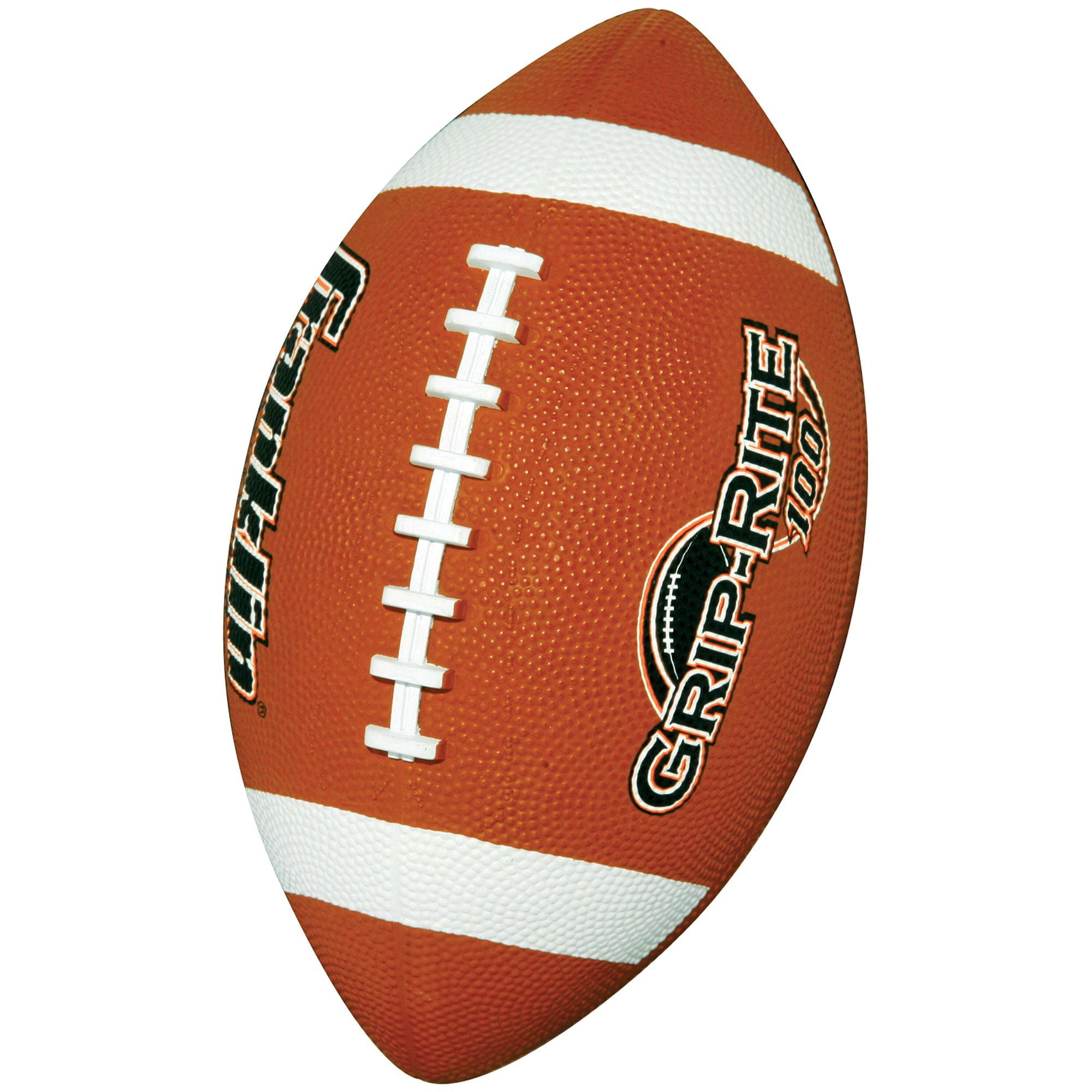 Franklin Sports Grip-Rite 100 Rubber Football, Junior by Franklin Sports