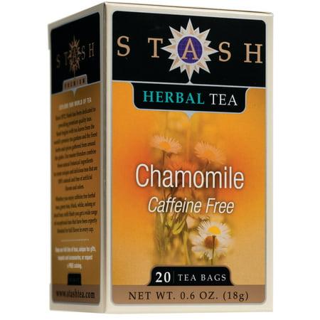 (3 Boxes) Stash Tea Chamomile Herbal Tea, 20 Ct, 0.6 Oz ()