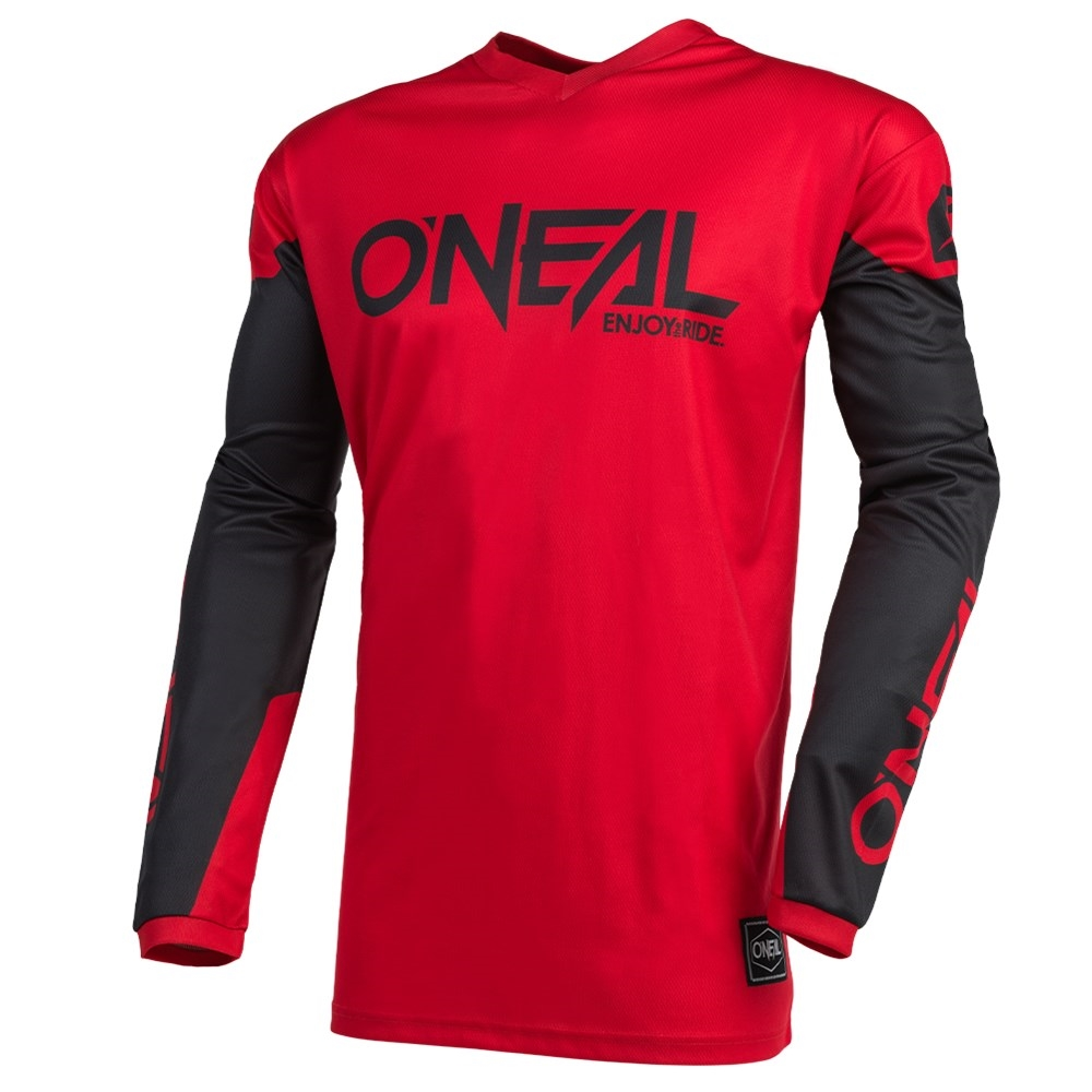ONeal Element Jersey Ride Mens Black//Blue, XL