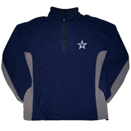 best service 71c7a 58dc4 NFL - Men's Dallas Cowboys 1/4-Zip Polar Fleece Pullover