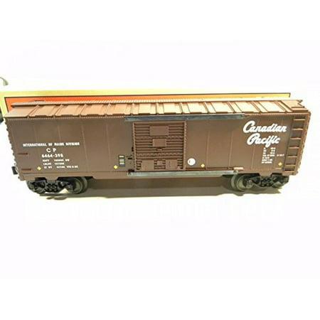 Lionel 29215 6464-398 Canadian Pacific Box Car Diecast Sprung Trucks 1998 Mint in Original Box Lionel Car Transporter