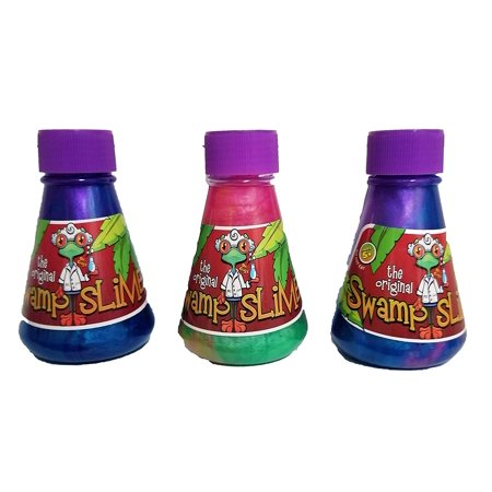 Universal Specialties Original Swamp Slime Party Favor Gift (3-Pack) - Party Universe