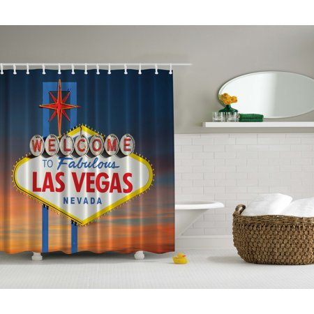 Welcome to fabulous las vegas nevada sign road art decor for Walmart art decor