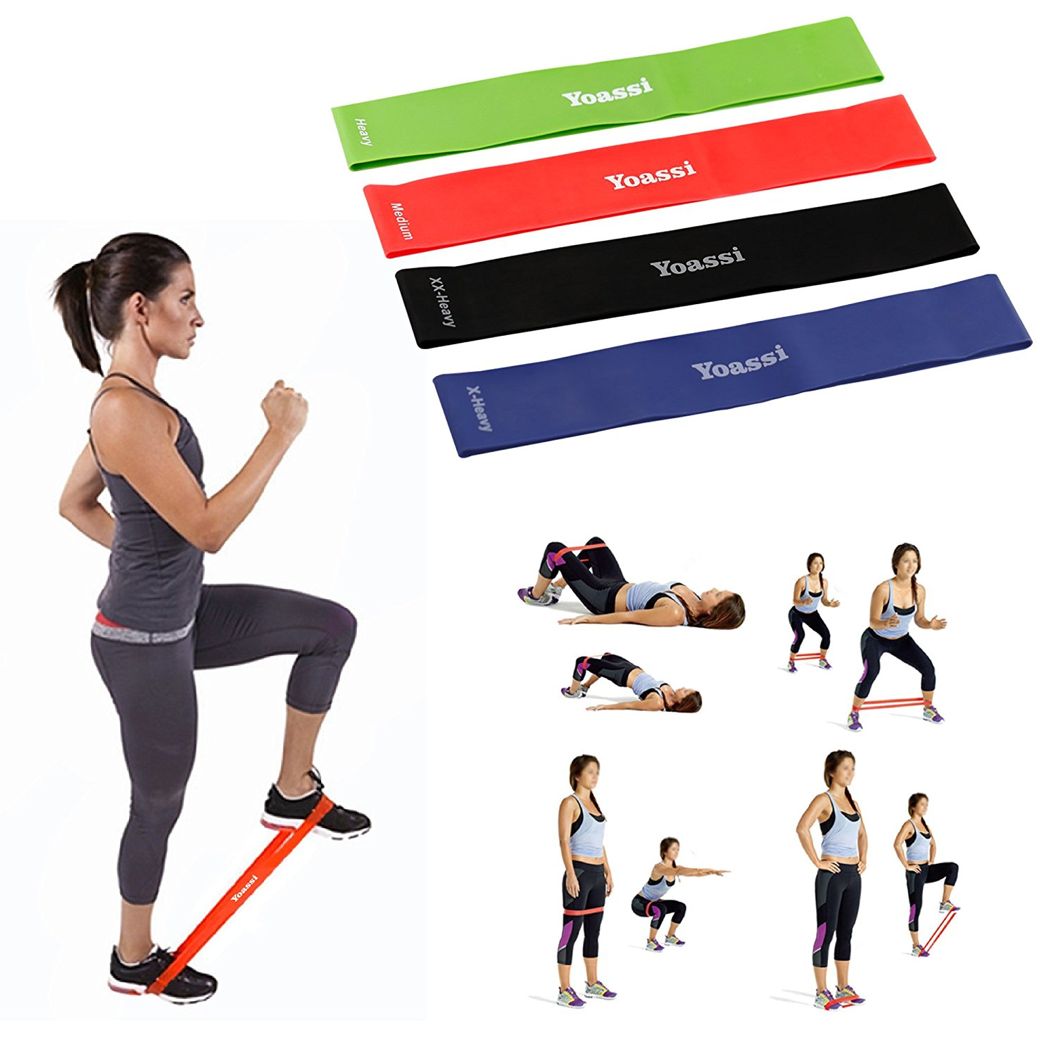Resistance Loop Band Leg Workouts