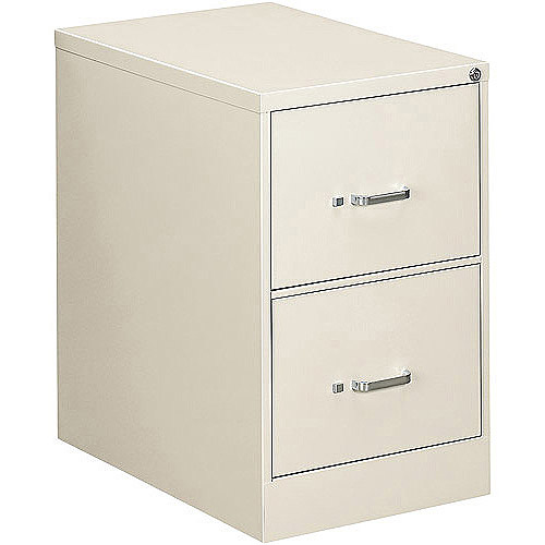 "OIF Two-Drawer Economy Vertical File, 18-1/4""W x 26-1/2""D x 29""H"