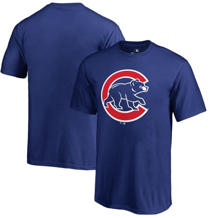 Cub Mountain T-shirt (Chicago Cubs Primary Logo T-Shirt - Royal)