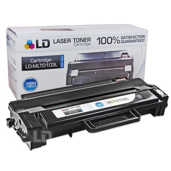 LD Compatible Replacement for Samsung MLT-D103L Black High Yield Laser Toner Cartridge for use in Samsung ML-2950ND,