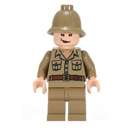 LEGO Indiana Jones Rene Belloq Minifigure