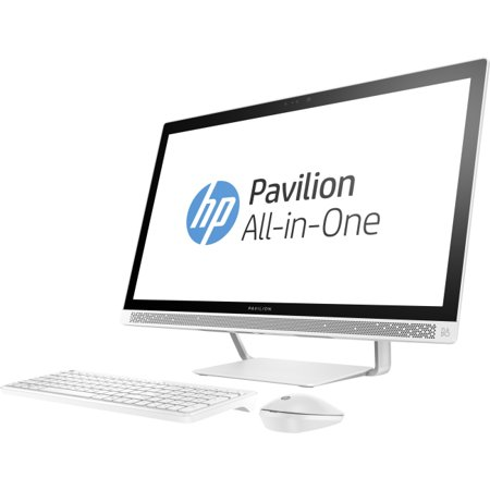 Hp Pavilion 27 A230 All In One Desktop Pc With Intel Core I5 7400T Processor  12Gb Memory  27   Touchscreen  1Tb Hard Drive And Windows 10 Home