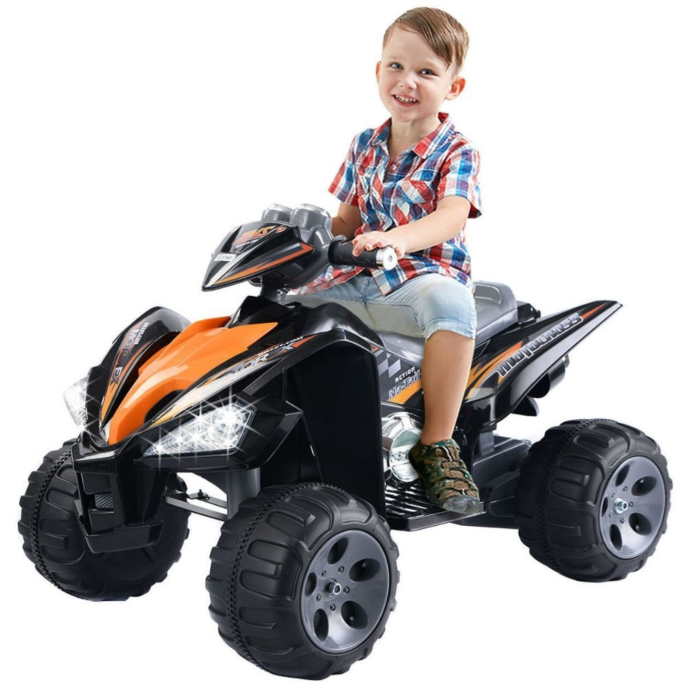 Kids Ride On ATV Quad 4 Wheeler Electric Toy Car 12V Batt...