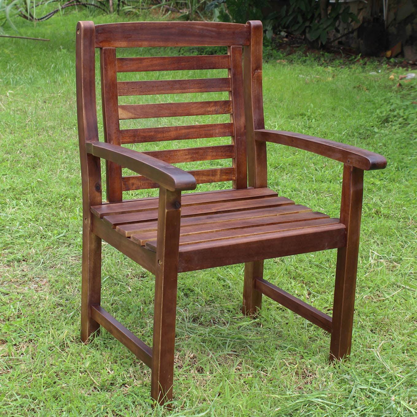 Highland Acacia Trinidad Chairs (Set of 2)