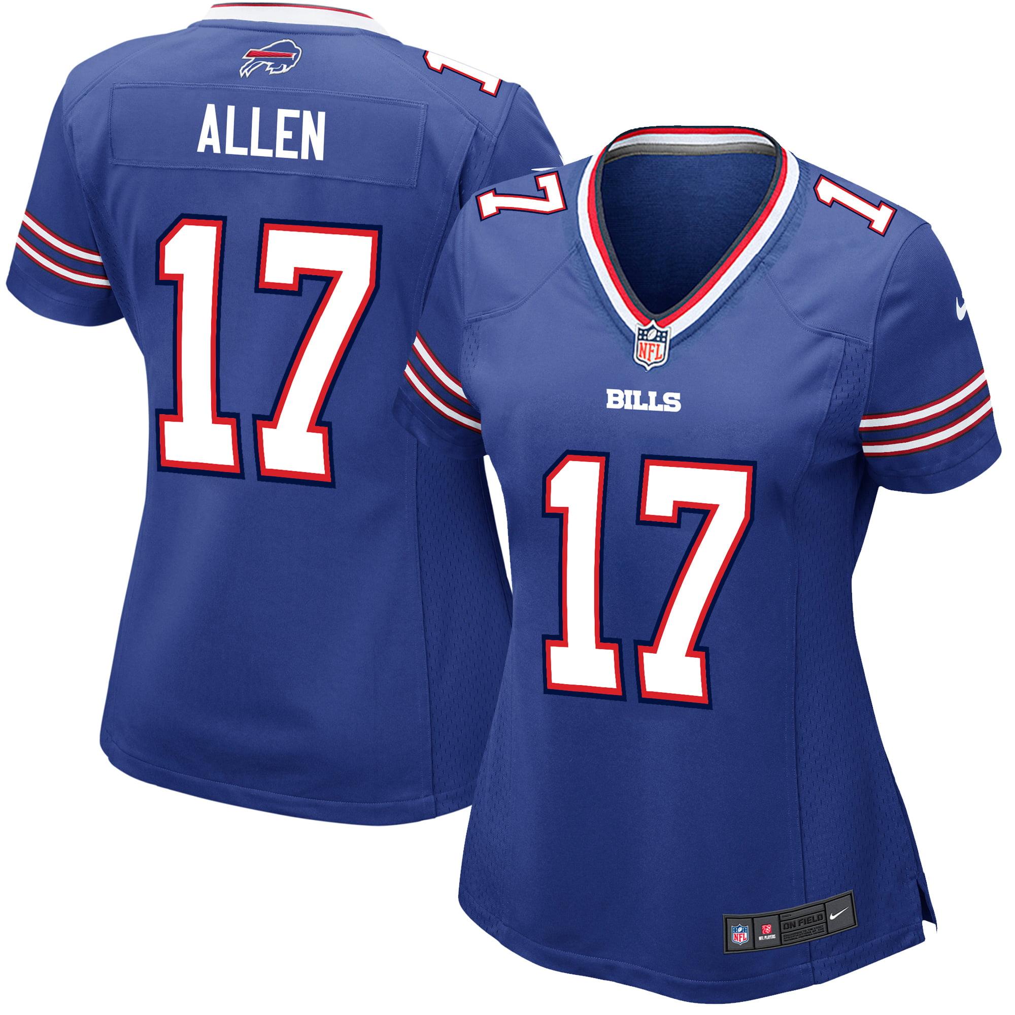 new products 8b767 d1847 Josh Allen Buffalo Bills Nike Women's Game Jersey - Royal