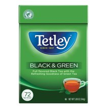 Tea Bags: Tetley Black & Green