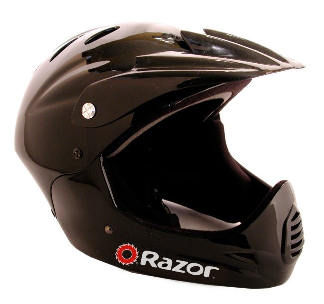 Razor Youth Full Face Bike Riding Sport Scooter Helmet with Elbow & Knee Pads by Razor