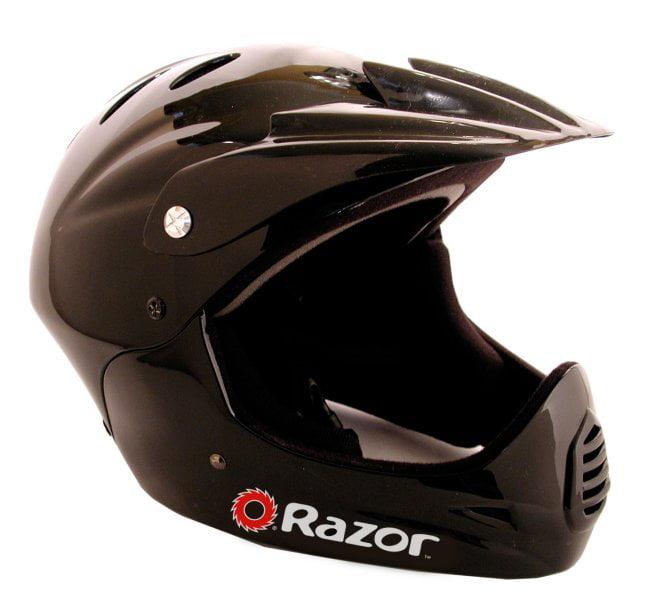 Razor Youth Full Face Riding Sport Scooter Helmet - Glossy Black | 97775