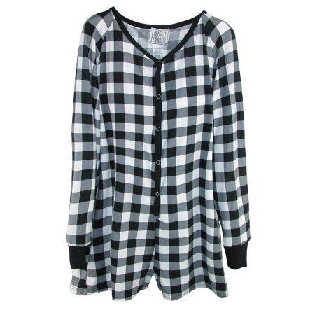 Mentally Exhausted - Mentally Exhausted Women s Buffalo Plaid Nightshirt -  Walmart.com 7a836d75e