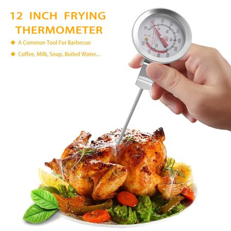 12 Inch Stainless Steel Thermometer - 12