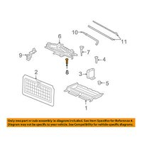 CHRYSLER OEM Interior-Rear-Jack Screw 6509085AA