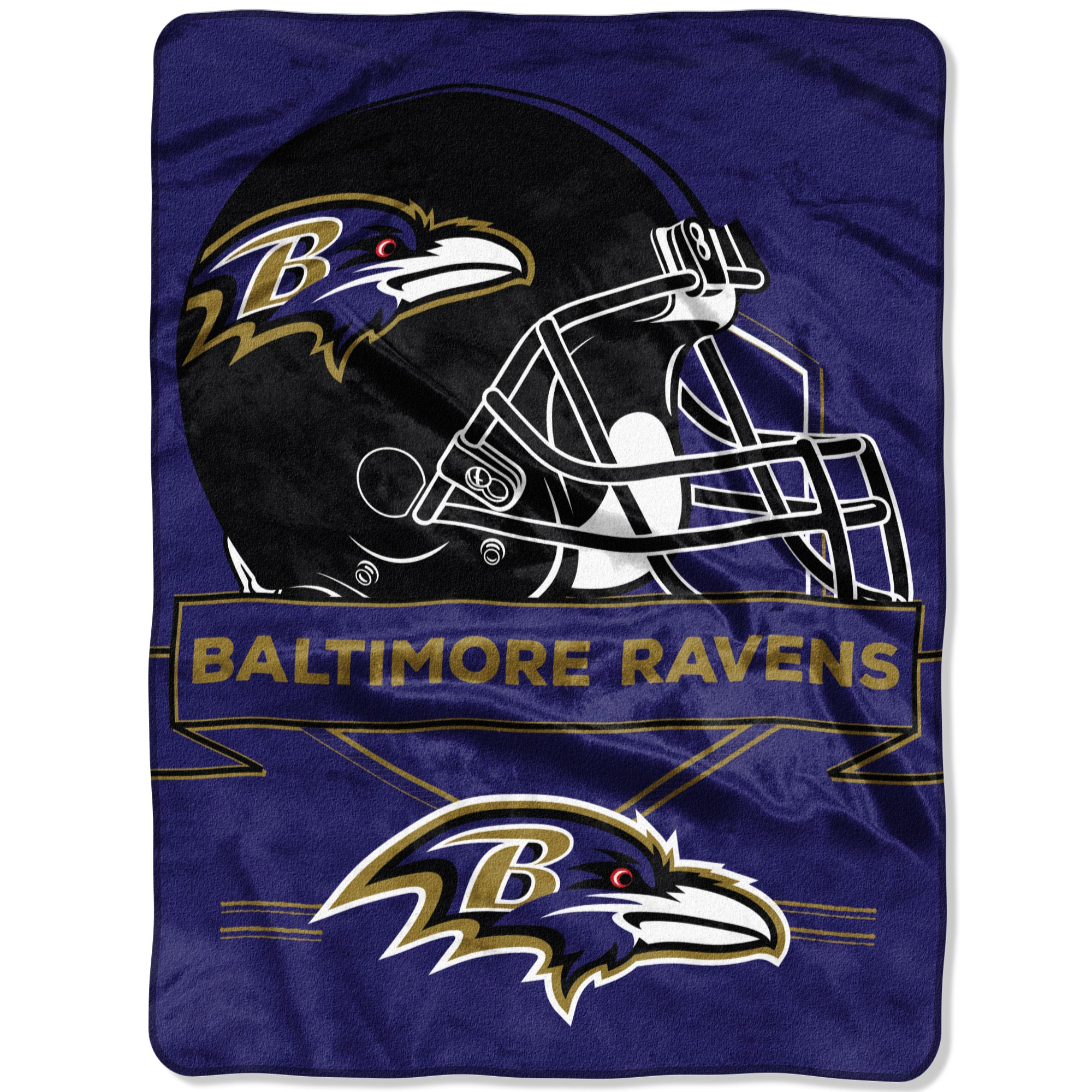 "Baltimore Ravens The Northwest Company 60"" x 80"" Prestige Raschel Blanket - No Size"