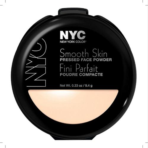 New York Color Smooth Skin Pressed Face Powder, Translucent [701A] 0.33 oz (Pack of 2)