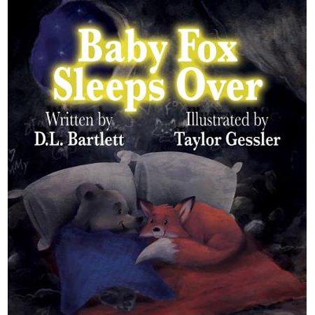 Baby Fox Sleeps Over