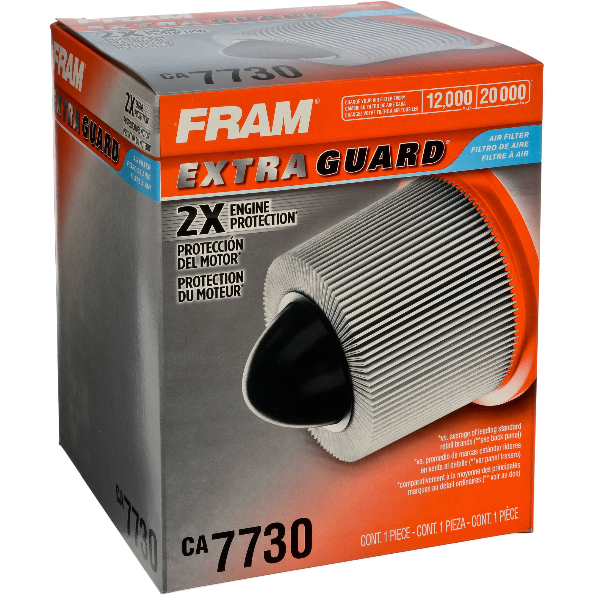 FRAM Extra Guard Air Filter, CA7730