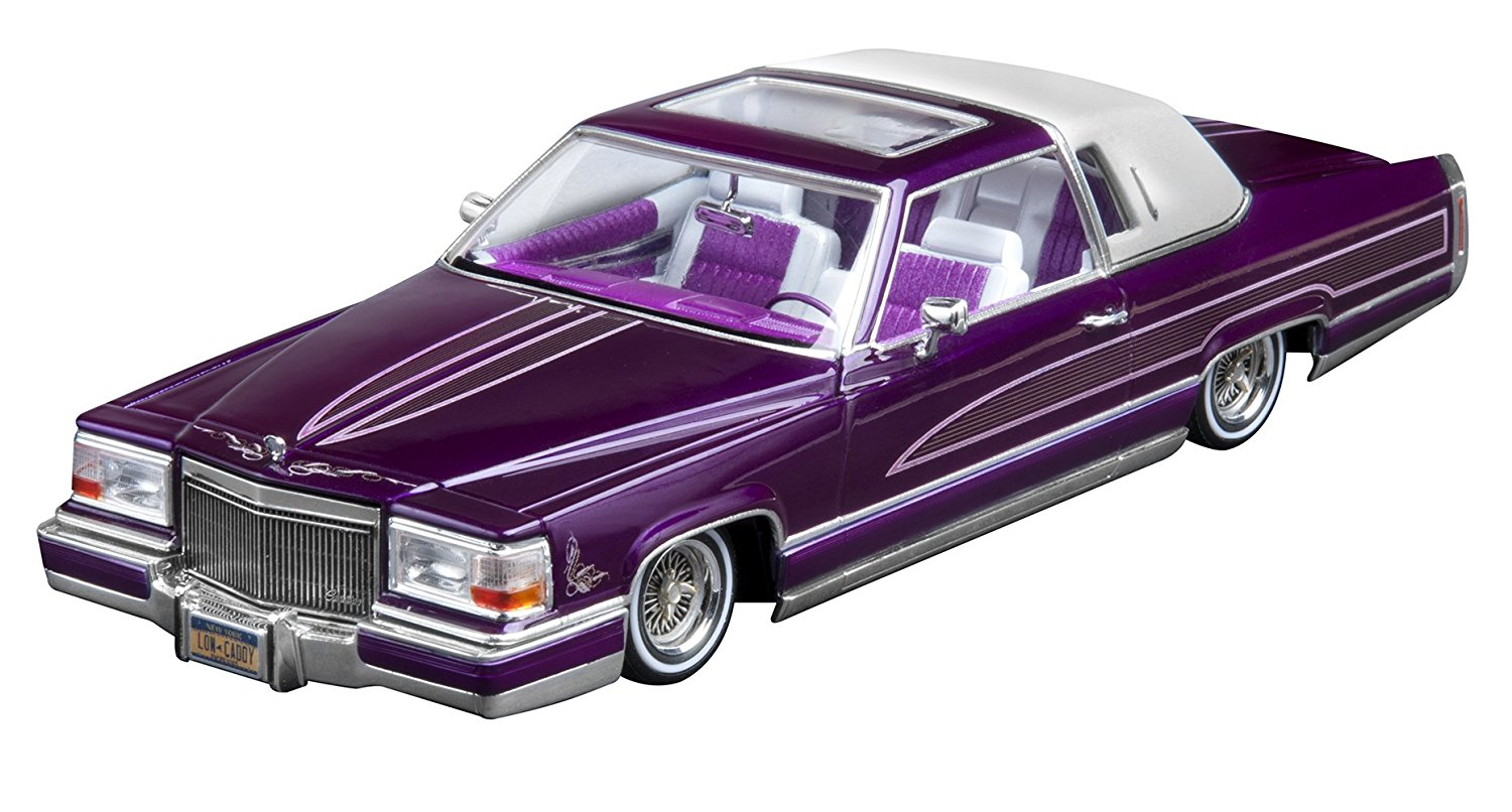 Custom Cadillac Lowrider Plastic Model Kit, Ext EXT Superman Front Batrgirl Trailer 1931... by