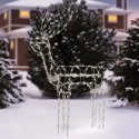 "Holiday Time 48"" Animated Standing Buck Light Sculpture"