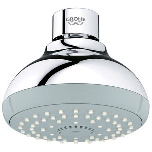 Grohe 27606000 New Tempesta 100 Shower Head with 4 Sprays, Available in Various Colors